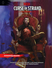 Dungeons & Dragons 5th Edition Curse of Strahd