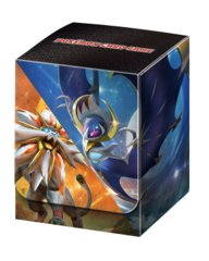 Japanese Pokemon Sun & Moon Solgaleo & Lunala Deck Box