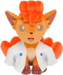 Japanese Pokemon Center 100 Poke Night Vulpix Yokai Plush