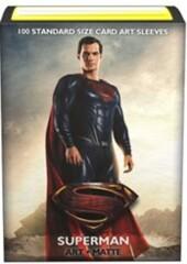 Dragon Shield Matte Art Standard-Size Sleeves - Justice League Superman