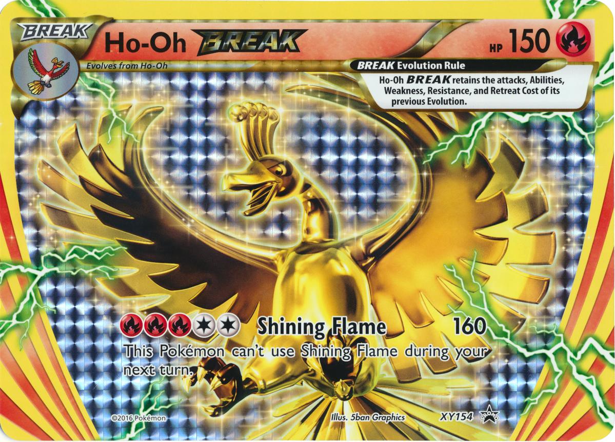 Ho-Oh TURBO XY154 XY-Promo Ho-Oh BREAK EN NM Pokemon
