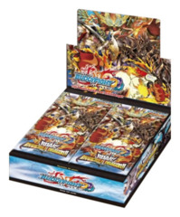 Buddyfight BFE-D-BT02 Roar! Invincible Dragon Booster Box