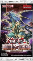 Yu-Gi-Oh Battles of Legend: Armageddon 1st Edition Booster Pack