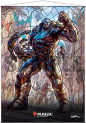 Ultra Pro Magic the Gathering Planeswalkers Stained Glass Wall Scroll - Karn