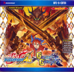 Buddyfight Ace BFE-S-CBT01 Golden Garga Booster Box
