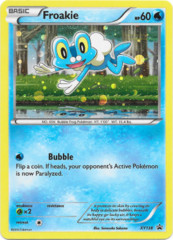 Froakie XY138 Cosmos Holo Promo - Fates Collide Blister Exclusive