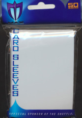 Max Protection Alpha Gloss Standard Size Sleeves - White - 50ct