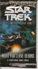 Star Trek CCG What You Leave Behind Booster Pack