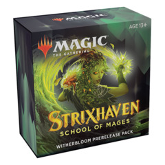 MTG Strixhaven: School of Mages Prerelease Kit - Witherbloom