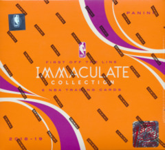 2019 Panini 1st Off The Line (FOTL) Premium Edition 2018-19 Immaculate NBA Trading Cards Hobby Box