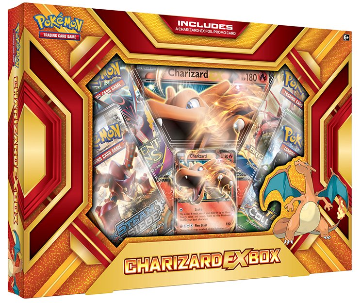 Pokemon Charizard EX Collection Fire Blast Box 2016
