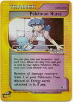 Pokemon Nurse - 145/165 - Uncommon - Reverse Holo