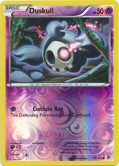 Duskull - 61/149 - Common - Reverse Holo