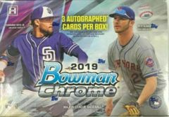 2019 Bowman Chrome MLB Baseball HTA Choice Box