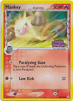 Mankey - 70/110 - Common - Reverse Holo