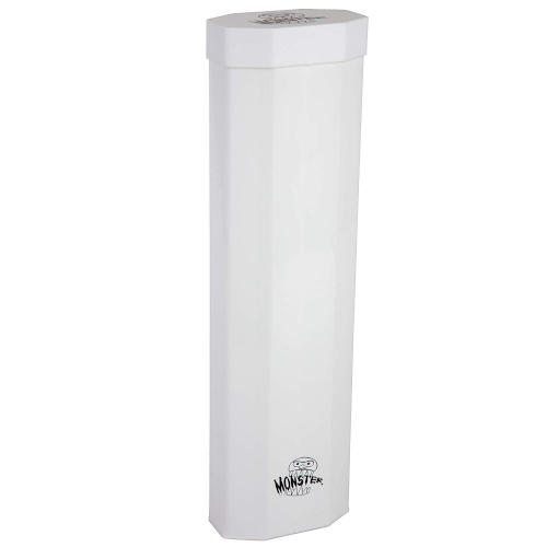 Monster Dual Playmat Tube - Opaque White