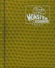 Monster Protectors 4-Pocket Binder - Holo Gold