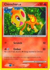 Chimchar DP02 Cosmos Holo Promo - Diamond & Pearl Blister Exclusive