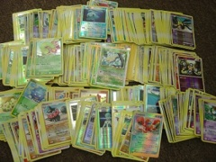 500 Pokemon MIXED-HOLO cards BULK COLLECTION LOT