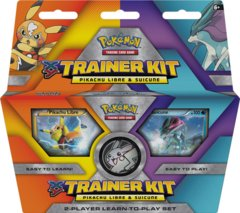 Pokemon XY Trainer Kit: Pikachu Libre and Suicune