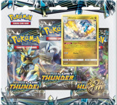 Pokemon Sun & Moon SM8 Lost Thunder 3-Booster Blister Pack - Altaria Promo