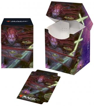 ULTRA PRO PRO DECK BOX M19 LILIANA UNTOUCHED BY DEATH CARD BOX FOR 100 MTG CARDS