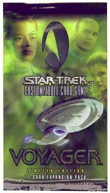 Star Trek CCG Voyager Booster Pack