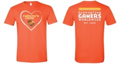 I Love Collector's Cache Unisex T-Shirt - ORANGE