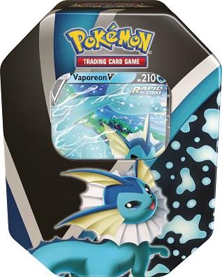 Pokemon Eevee Evolutions Tin - Vaporeon V
