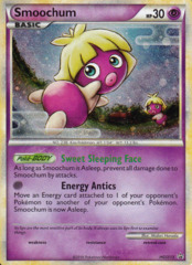 Smoochum HGSS13 Cosmos Holo Promo - HS Unleashed Blister Exclusive