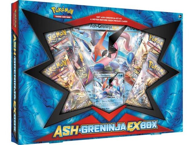 Pokemon Ash-Greninja EX Collection Box