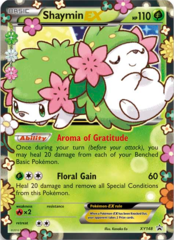 Shaymin EX XY148 Holo Promo - Generations Elite Trainer Box Exclusive