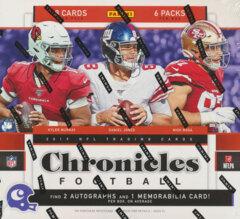 2019 Panini Chronicles NFL Football Hobby Box