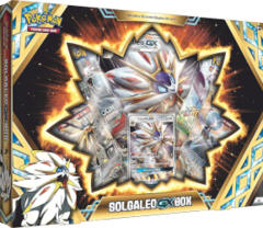 Pokemon Solgaleo GX Collection Box