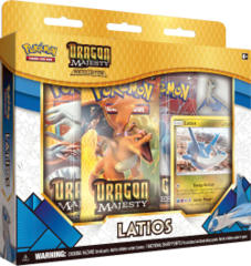 Pokemon Dragon Majesty Latios Pin Collection
