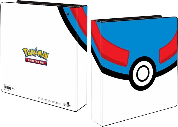 Ultra Pro Pokemon Great Ball 2 3-Ring Album Binder