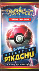 Pokemon Detective Pikachu Booster Pack