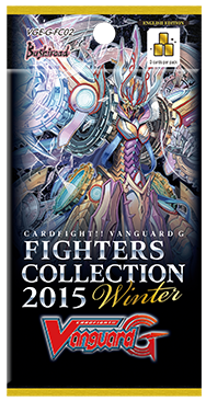 Cardfight!! Vanguard VGE-G-FC02 Fighters Collection 2015 Winter Booster Pack