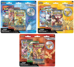 Pokemon Legendary Birds 3-Booster Blister Packs: Set of 3