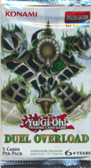 Yu-Gi-Oh Duel Overload 1st Edition Booster Pack