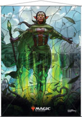 Ultra Pro Magic the Gathering Planeswalkers Stained Glass Wall Scroll - Nissa