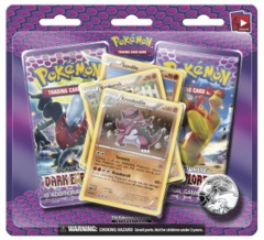 Pokemon Black & White BW5 Dark Explorers 2-Booster Blister - Krookodile Promo