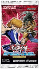 Yu-Gi-Oh Scars of Battle 1st Edition Speed Dueling Booster Pack