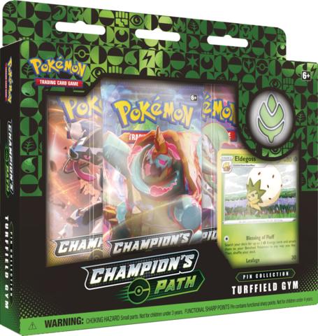 Pokemon Champions Path Pin Collection - Turffield