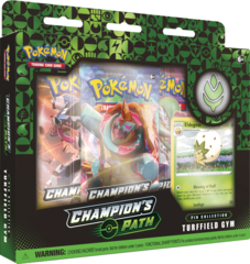 Pokemon Champion's Path Pin Collection - Turffield