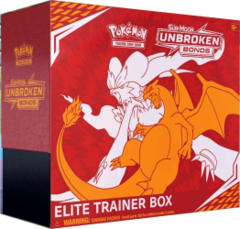 Pokemon Sun & Moon SM10 Unbroken Bonds Elite Trainer Box
