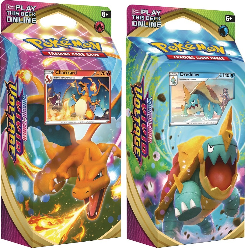 Pokemon SWSH4 Vivid Voltage Theme Decks - Set of 2