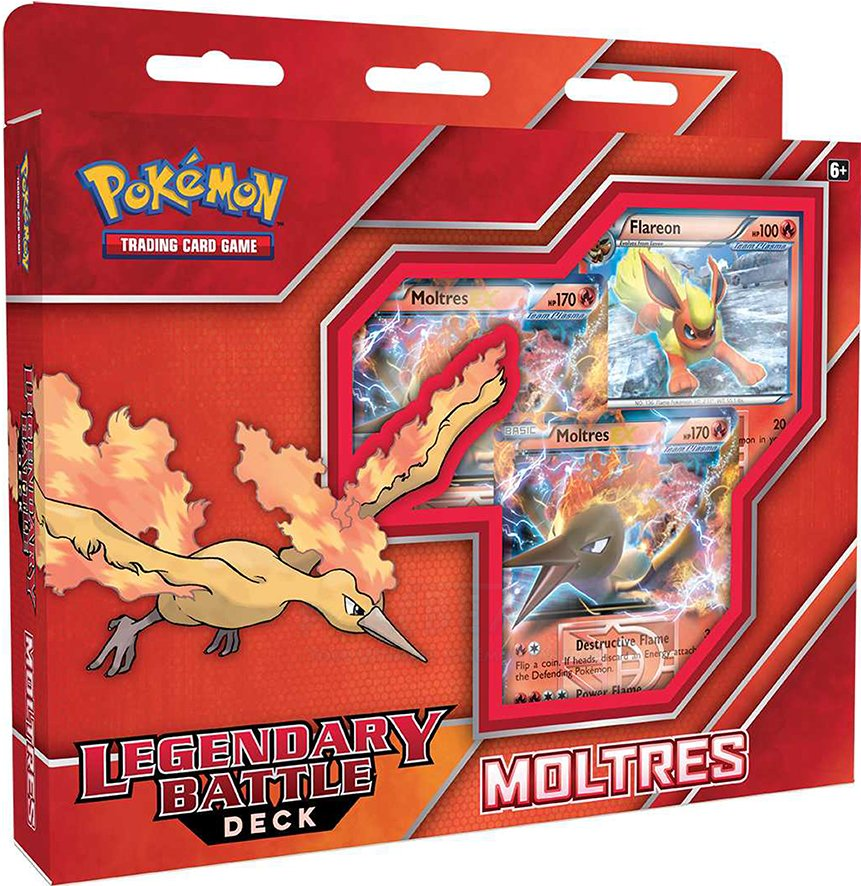 Pokemon Legendary Battle Deck Moltres Pokemon Sealed Products