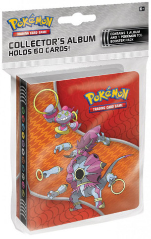 Pokemon XY Breakthrough Hoopa Mini Collectors Album with Booster Pack