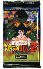 Panini Dragonball Z Movie Collection Booster Pack